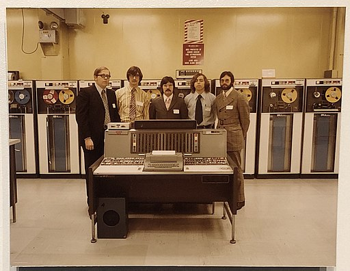 IBM 7030 Stretch computer photo at National Cryptologic Museum.agr