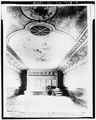 INTERIOR SHOWING CEILING - Granger Music Hall, 1700 East Fourth Street, National City, San Diego County, CA HABS CAL,37-NATC,2-4.tif