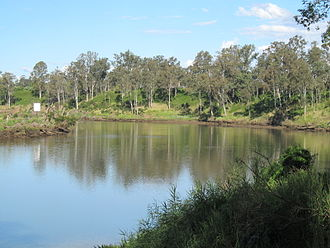 City of Ipswich - The Brisbane River at Riverview, 2013