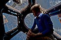 ISS-52 Peggy Whitson contemplates in the Cupola.jpg