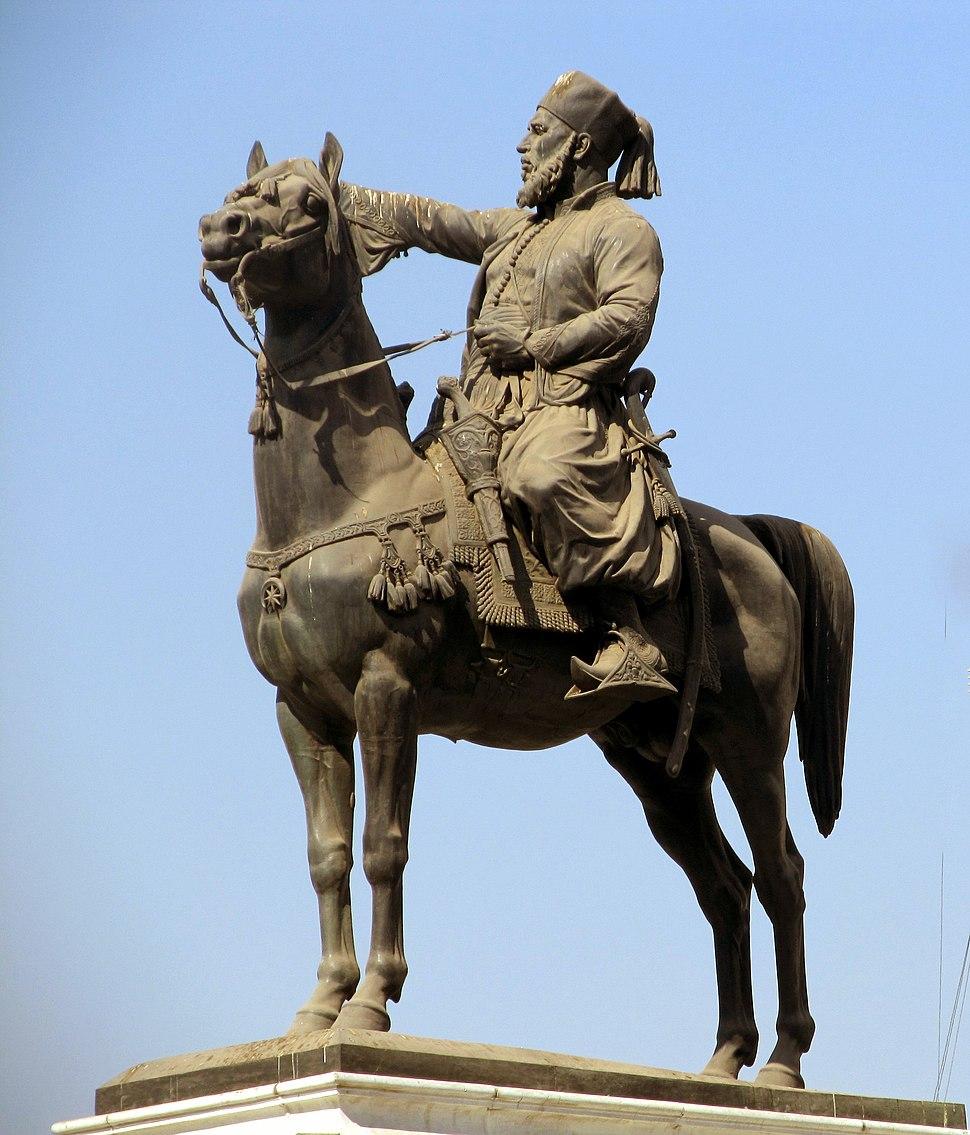 Ibrahim pacha statue