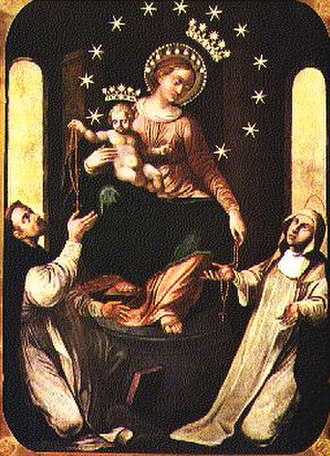 Titles of Mary - Our Lady of the Rosary as Madonna di Pompei