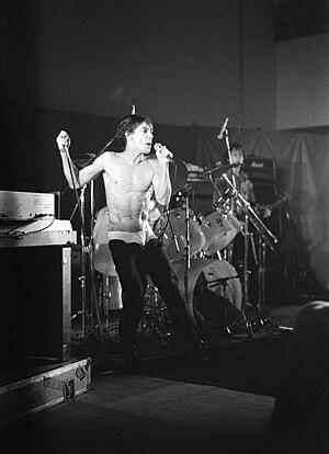 Iggy Pop - Iggy Pop, Cardiff, 1979