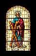 Iglesia de Nuestra Señora de la Peña de Francia - Puerto de la Cruz - Donors window Andrew the Apostle.jpg