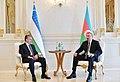 Ilham Aliyev met with President of Uzbekistan Shavkat Mirziyoyev, 2019 04.jpg