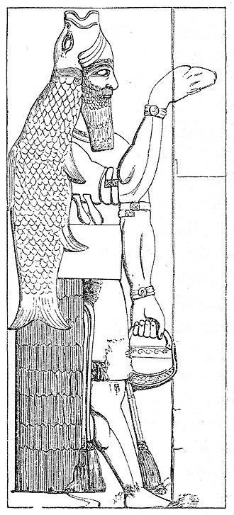 Dagon - Image: Illustrerad Verldshistoria band I Ill 032
