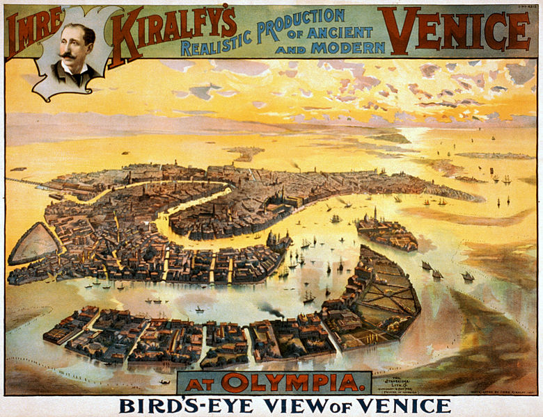 File:Imre Kiralfy's realistic production of ancient and modern Venice at Olympia, performance poster, 1891.jpg
