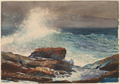 Incoming Tide, Scarboro Maine by Winslow Homer, 1883.png