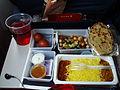 Indian meal in flight.JPG