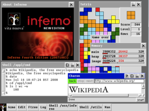 Inferno (operating system) - Image: Inferno 4th Edition