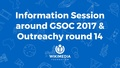 Information session around GSOC 2017 & Outreachy round 14.pdf