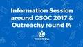 Information session around GSOC 2017 & Outreachy round 14.pdf
