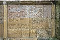 Inscription panel inside Melrose Abbey - geograph.org.uk - 781607.jpg