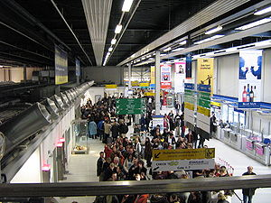 Frankfurt–Hahn Airport - Check-in area