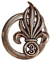 Le béret dans l'armée 101px-Insigne_de_b%C3%A9ret_du_3e_RE