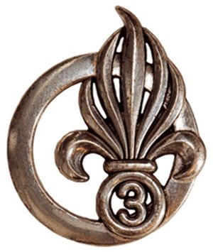 3rd Foreign Infantry Regiment - Image: Insigne de béret du 3e RE