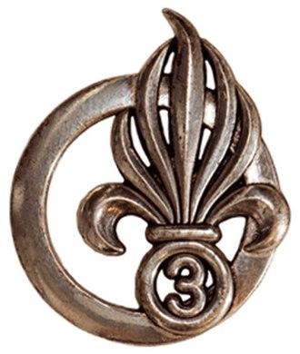 3rd Foreign Infantry Regiment - Image: Insigne de béret du 3e RE