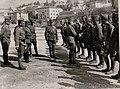 Inspizierung des 4.Tiroler Kaiserjägerregimentes durch Exzellenz Feldmarschall Conrad Freiherr von Hötzendorf am Piazza d'Armi in Trient (BildID 15736132).jpg