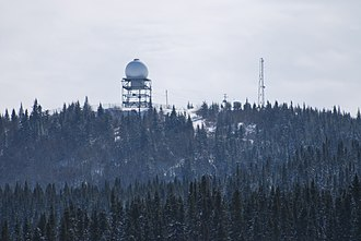 Secondary surveillance radar - Independent secondary surveillance radar (ISSR), designation YMT, north of Chibougamau, Quebec, Canada
