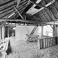 Interieur, overzicht houten kapconstructie, tijdens verbouwing - Dinther - 20336444 - RCE.jpg