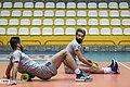 Iran men's national volleyball team in training, 30 December 2019 2.jpg