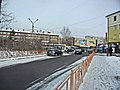 Irkutsk. February 2013. Cinema Barguzin, regional court, bus stop Volga, Diagnostic Center. - panoramio (7).jpg