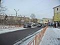 Irkutsk. February 2013. Cinema Barguzin, regional court, bus stop Volga, Diagnostic Center. - panoramio (7).jpg