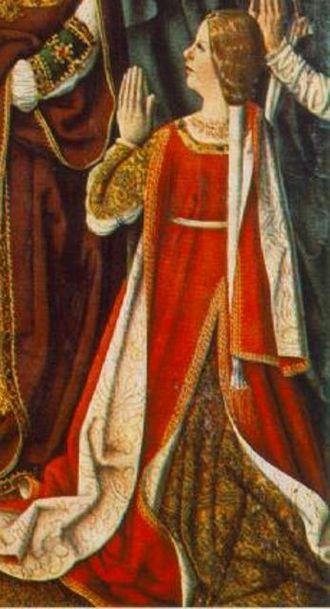 Isabella of Aragon, Queen of Portugal - Image: Isabel das Asturias