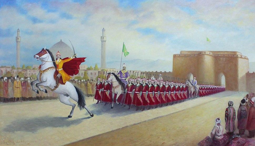 Ismail declares himself shah by entering Tabriz, Chingiz Mehbaliyev