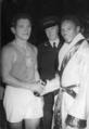 Július Torma congratulatory photograph from 1948.png