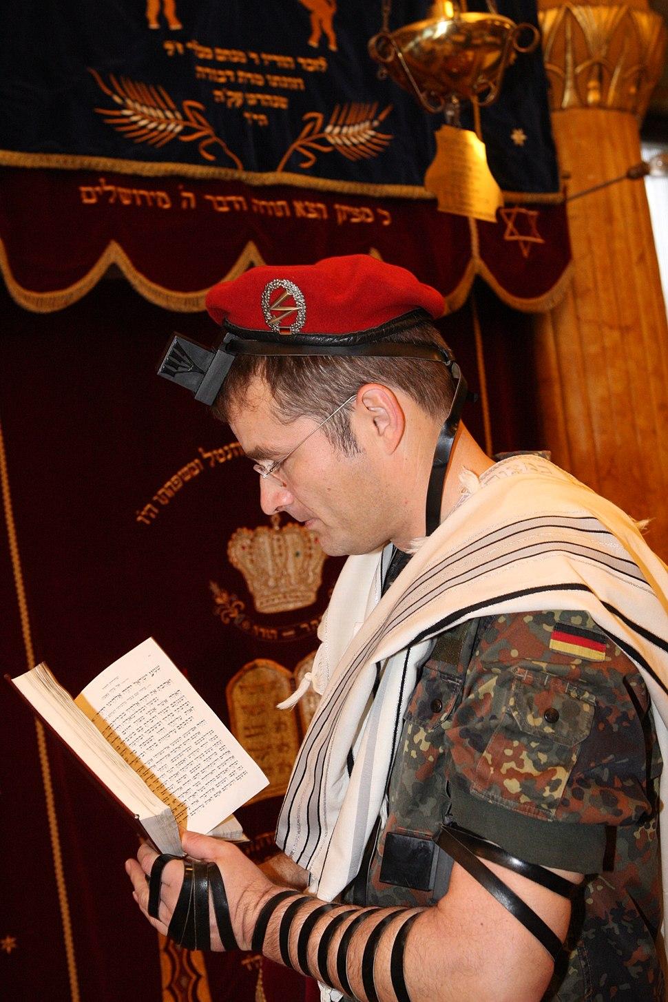 Jüdischer Soldatengottesdienst