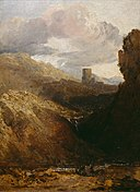 J.M.W. Turner - Dolbadarn Castle - Study for Diploma Picture.jpg