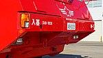 JASDF A-MB-3 crash tender(Tokyu Car Corporation FB630TN,48-6325) bumper at Iruma Air Base November 3, 2014.jpg
