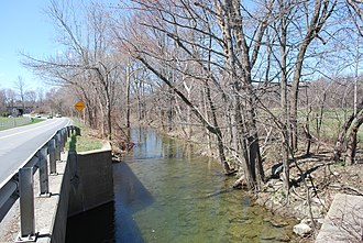Jackson Creek (Sprout Creek tributary) - Jackson Creek off County Route 21