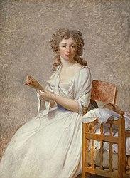 Jacques-Louis David: Portrait of Madame Pastoret