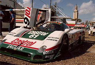Jaguar XJR-9 - Image: Jaguar XJR9 61 L Fpaddock 89mia