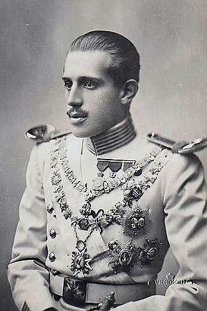 Infante Jaime, Duke of Segovia - Image: Jaime Enrique de Borbón