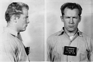 Whitey Bulger - Bulger's mugshot at Alcatraz, 1959