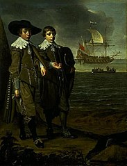 A Dutch Family Group (Portrait of Two Boys)