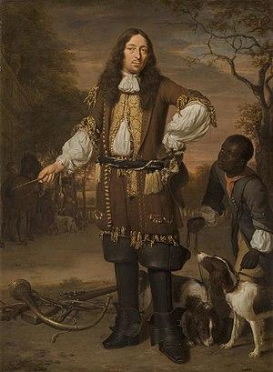 Johan de la Faille - Portrait of Johan de la Faille by Jan Verkolje
