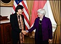 Janet Yellen and Sri Mulyani Indrawati at the 2021 IMF Autumn Meeting.jpg