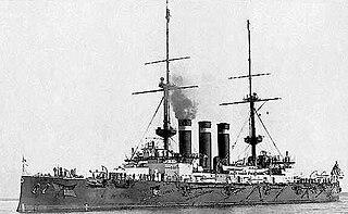 Japanese battleship <i>Hatsuse</i> Shikishima-class battleship