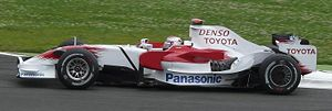 Ove Andersson - The Toyota F1 team paid tribute to Andersson at the 2008 French Grand Prix.