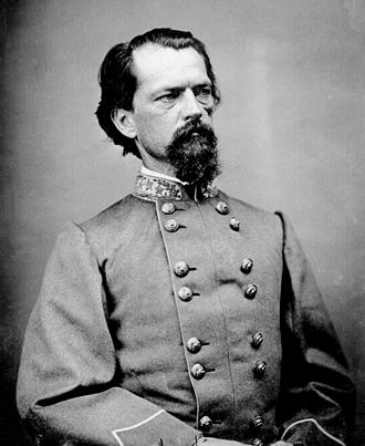 Joshua Chamberlain - Confederate General John B. Gordon was assigned the task to surrender all arms to Gen. Chamberlain.