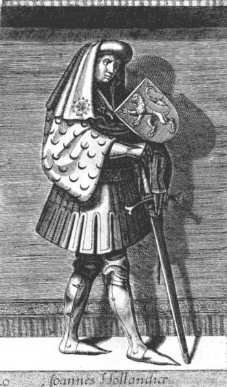John I, Count of Holland - John I as imagined in the 16th century