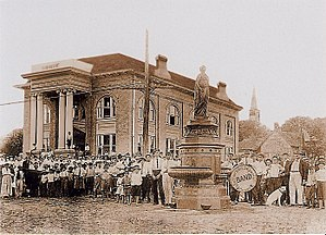 Jefferson Carnegie Library - The Carnegie Library in 1913