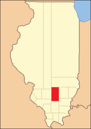 Jefferson County, Illinois - Image: Jefferson County Illinois 1819