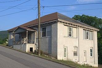 Jefferson School (Clifton Forge, Virginia) - Previous 1902 Jefferson School (Clifton Forge, Virginia)