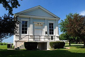 Andover, Illinois - Jenny Lind Chapel in Andover