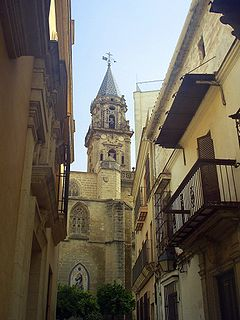 Jerez San Miguel Church Tower.jpg
